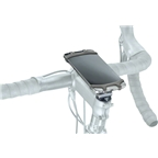 """Topeak Omni RideCase DX for 4.5"""" to 5.5"""" phones with stem cap and bar mount, Black"""