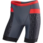 """TYR Competitor 9"""" Men's Short: Gray/Red"""
