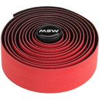 MSW Anti-Slip Gel + Handlebar Tape HBT-300 Red