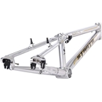 "Staats Bloodline SuperMoto30 Pro XL PF30 Frame 21.25"" Top Tube Silver Arrow"