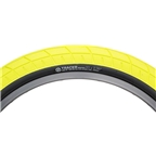 "Salt Tracer Tire 20 x 2.35"" 65 PSI Neon Yellow Tread/Black Sidewall"