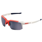 100% Speedcoupe Sunglasses, Gamma Ray - Dark Gray Mirror