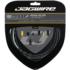 Jagwire Road Elite Link Brake Cable Kit SRAM/Shimano with Ultra-Slick Uncoated Cables, Black
