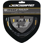 Jagwire Road Elite Link Brake Cable Kit SRAM/Shimano with Ultra-Slick Uncoated Cables, Limited Edition