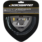 Jagwire Mountain Elite Link Brake Cable Kit with Ultra-Slick Uncoated Cables, Black