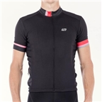 Bellwether Phase Men's Short Sleeve Jersey Top: Black
