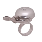 Crane Bell Co Suzu Mini Headset Bell, Polished Alloy