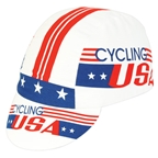 Pace Sportswear Cycling USA, Red/Blue/White - One Size