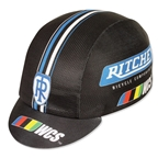 Pace Sportswear Ritchey WCS Coolmax Cap, Black/Blue - One Size