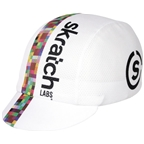 Pace Sportswear Skratch Labs Coolmax Cap, White - One Size