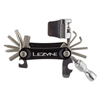 Lezyne RAP 21 CO2 21 Function Multi Tool Aluminum Black Sides