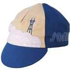 IDG Soma Sutro Cycling Cap, Blue - One Size