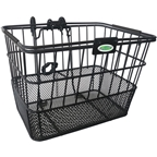 Clean Motion Quik Release Basket, Black