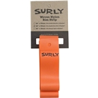 Surly Rim Strip: For 26+ Rabbit Hole Rim Nylon 33mm wide Orange