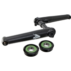 4-Jeri Pro-Style Arms/spindle (American BB), 175mm Black
