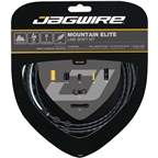 Jagwire Mountain Elite Link Shift Cable Kit SRAM/Shimano with Ultra-Slick Uncoated Cables, Black