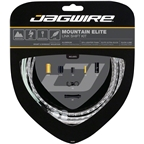 Jagwire Mountain Elite Link Shift Cable Kit SRAM/Shimano with Ultra-Slick Uncoated Cables, Silver