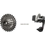 SRAM Red eTap WiFli Upgrade Kit, Includes Medium Cage Rear Derailleur, 11-32 Red 11 Speed Cassette and XG-1190 Red 22 Chain