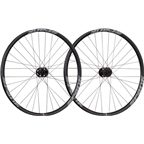 "Spank Spike Race 33 26"" DH Wheelset 20x110mm Front, 12x150mm Rear, Steel Shimano Freehub, Black/Gray Bearclaw Edition"