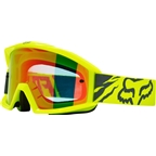 Fox Racing Main Goggle: Race Yellow One Size