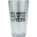 All-City Bike Riders Make Better Lovers Pint Glass: 16oz