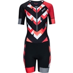 Zoot Ultra Tri Aero Women's Skinsuit: Chevron Stripe