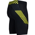 "Zoot Performance Tri 9"" Men's Short: Volt Checkers"