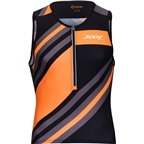 Zoot Ultra Tri Men's Tank: Racing Stripe