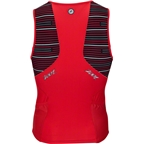 Zoot Performance Tri Men's Tank: Red Jetty