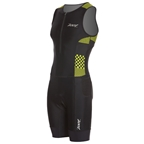 Zoot Performance Tri Men's Racesuit: Volt Checkers