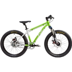 "Early Rider Belter Trail 3S Complete Bike: 20"" Wheel Silver/Lime"