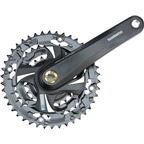 Shimano Tourney TX801 6/7/8-Speed 170mm 22/32/42t Square Crankset, Black