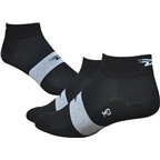 Defeet Aireator Sock: Black/White