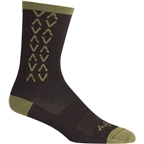 Teravail Logo Socks: Avocado Black/Gray