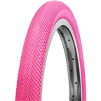 "Vee Tire Co. Speedster BMX Tire: 20 x 1-3/8"" 90 TPI Folding Bead Pink"