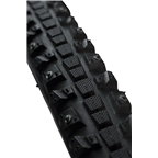 45NRTH Xerxes 700 x 30 Studded Commuter Tire 140 Steel Carbide Studs 120 tpi, Folding, Black