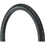 "Schwalbe Marathon Winter Tire, 26 x 2"" Wire Bead Black with Reflective Sidewall and RaceGuard Protection"