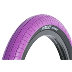 "Sunday Seeley Street Sweep Tire 20 x 2.4"" Purple with Black Sidewall"