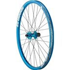 "Spank Spoon 32 26"" DJ Wheelset 15/20mm Front, 135x12mm Rear, Steel Shimano Freehub, Blue"