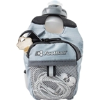 FuelBelt Helium Fuel Pack Hand-held Hydration: Black/Gray, 10oz