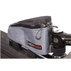 Revelate Designs Gas Tank Top Tube/Stem Bag, Steel Gray
