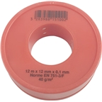 PrestaCycle Metric Teflon Thread Tape 12m x 12mm