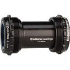 Enduro T47 Bottom Bracket: XD15 Ceramic Bearings 386 Evo, Black