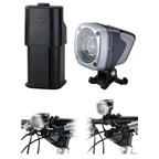Topeak WhiteLite HP Mega 10 Watt High Power LED Light with Handlebar & Helmet Mount
