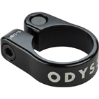 "Odyssey Slim Seat Post Clamp 1-1/8"" Black"