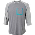 RaceFace Stage Men's Long Sleeve Jersey: Black/Gray