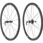 Campagnolo Bora Ultra 35, 700c Road Wheelset, Tubular, Dark Label