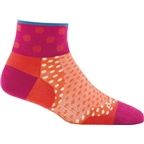 Darn Tough Dot 1/4 Ultra Light Women's Sock: Coral