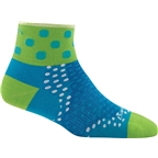 Darn Tough Dot 1/4 Ultra Light Women's Sock: Teal