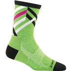 Darn Tough Graphic Stripe Micro Crew Ultra Light Women's Sock: Green